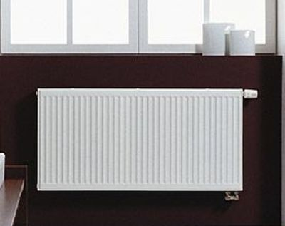 Purmo 11V 600/400 balos beépített szelepes radiátor