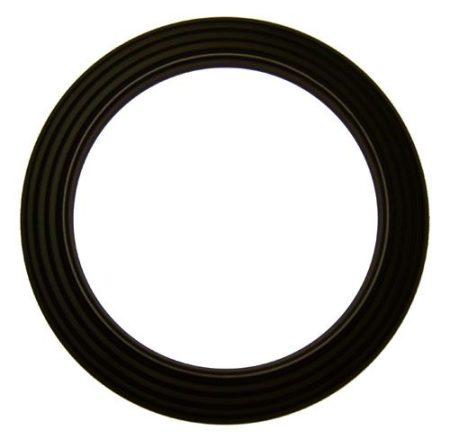 DN132 fekete acél csőrózsa