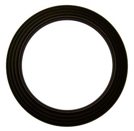 DN180 fekete acél csőrózsa
