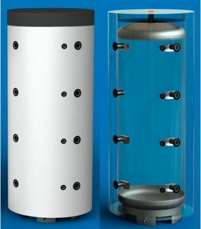 Hajdu Puffer tároló PT 1000 szigeteléssel, (880 L) Prémium minőség.