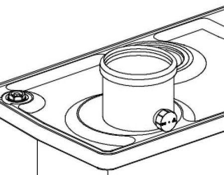 HGK kémény adapter szet 80/125 2419994001 (HAJ00080)