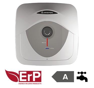 Ariston AN RS 15/3 felső elh, ERP tárolós vízmelegítő, elektromos, réz fűtő, 1.2kW