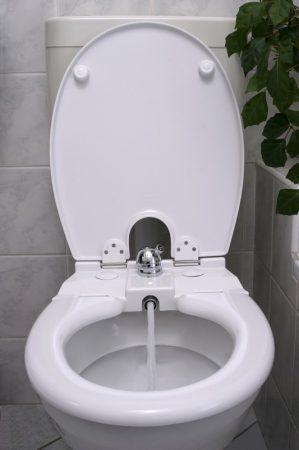 Toilette Nett 320-T bidés WC ülőke