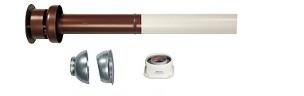 Immergas Ø 60/100 mm-es koaxiális függőleges készlet (kondenzációshoz )