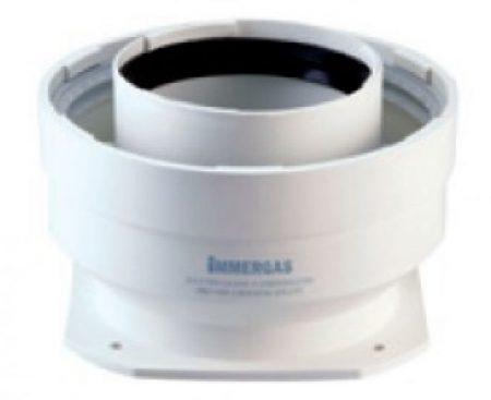 Immergas Ø 80/125 mm-es kondenzációs indító idom Zöld szériás