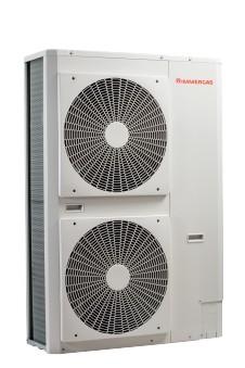 Immergas Audax Top 18 levegő-víz hőszivattyú 16, 2/21, 17kW, beépített tágulási tartállyal 8L