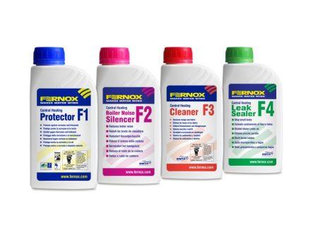 FERNOX Rendszerkezelő szett - 3db 500 ml F1 + 1db F2 + 3db F3 + 3db F4