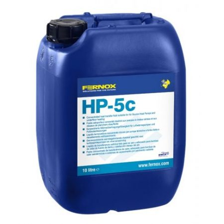 FERNOX HP-5c 10 liter - hőszivattyú hőközlő adalék -14 C fokig (koncentrátum)