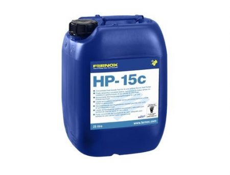 FERNOX HP-15c 25 liter - hőszivattyú hőközlő adalék -34 C fokig (koncentrátum)