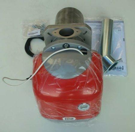 Ferroli Sun P12  pellet égő és szállító csiga