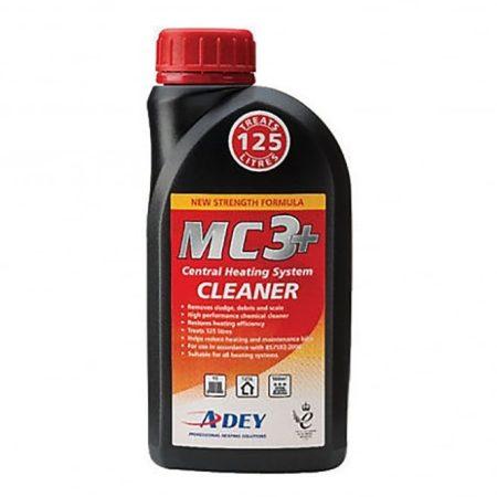 ADEY MC3+ tisztítófolyadék, mágneses és nem mágneses szemcsék ellen, 125l vízhez, 500ml