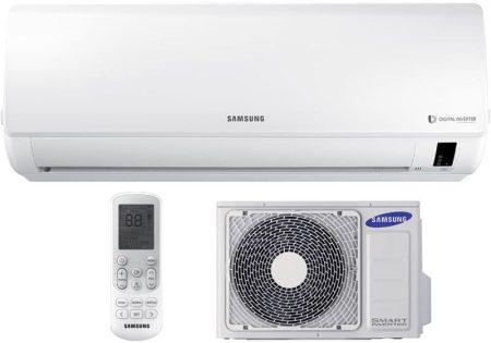 Samsung New Boracay AR24NSFHBWKNEU/XEU oldalfali inverteres klíma