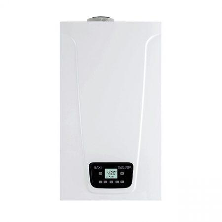 BAXI Duo-Tec Compact E 28 ERP kombi kazán, kondenzációs, fali, F:24kW,