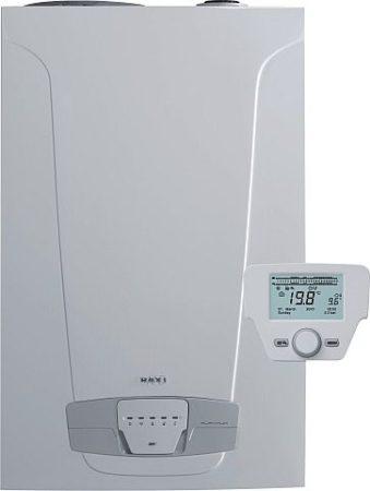 BAXI Nuvola Platinum 24+ ERP hőközpont(45l inox tároló),kondenz,fali,24kW,IPX5D