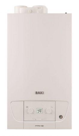 BAXI Prime 24 ERP kombi kazán, kondenzációs, fali, 24kW + Ajándék Q3 digitális termosztát