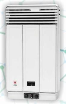 FÉG EURO FK25 ERP konvektor, kéményes, fehér, 2.9kW