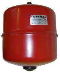 """GITRAL MB-08 fűtési zárt tágulási tartály 8l, 3/4"""", 3bar, -10°C...+99°C"""