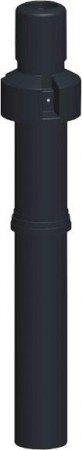 Brilon PPs tetőátvezetés 80/125 fekete