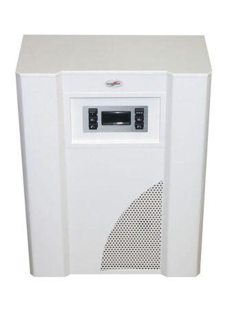 MIKA 6EU.V parapetes minikazán váltószeleppel, szivattyúval, ventilátorral, tágulási tartályal (fehér)