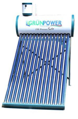 Grünpower 150 Pressure Turbo napkollektor ( csak személyes átvétel )