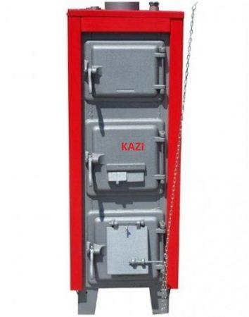 KAZI S-43 kW  + szigetelés +  automata huzatszabályozó
