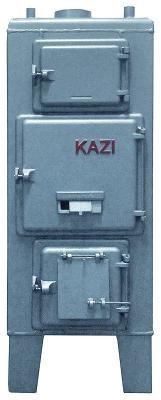 KAZI S-43 kW Szigetelés nélkül,  huzatszabályozóval