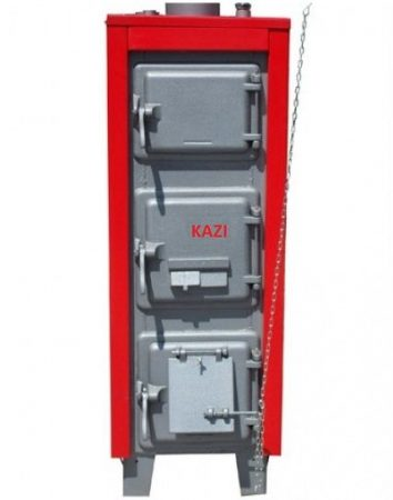 KAZI S-48 kW  + szigetelés +  automata huzatszabályozó