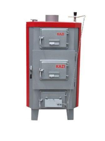 Kazi Titan-6 110 kW zárt fűtéskör (fa/farönk)