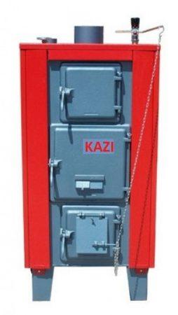 Kazi VR-28 kW + szigetelés + automata huzatszabályozó (vízrostélyos)