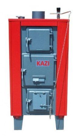 Kazi VR-38 kW + szigetelés + automata huzatszabályozó (vízrostélyos)