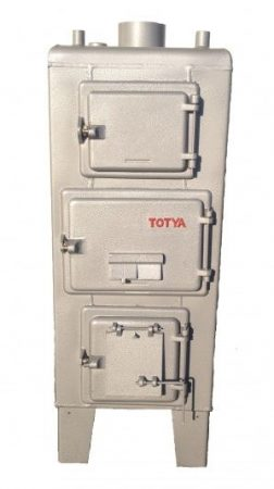 Totya   S-18  Szigetelés nélkül, huzatszabályozóval +Ajándék Totya salak kaparó