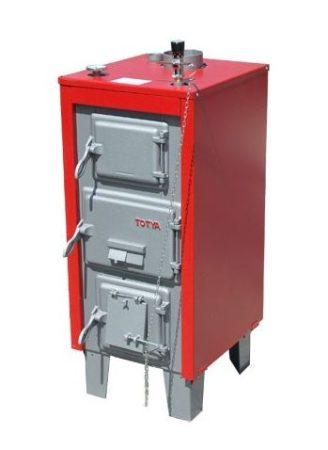 Totya  S-23 kW + szigetelés +  automata huzatszabályozó+hőmérő+Ajándék Totya salak kaparó