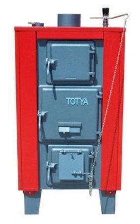 Totya VR-43 vízrostélyos Szigeteléssel, huzatszabályzóval + Ajándék Totya salak kaparó