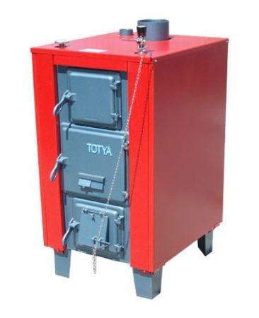 Totya  VR -48 B 48 kW-os kazán + szigetelés + automata huzatszabályozó (vízrostélyos)