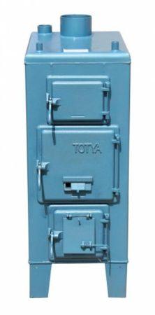 Totya VR - 33 kW vízrostélyos Szigetelés nélkül, automata huzatszabályozóval + Ajándék Totya salak kaparó