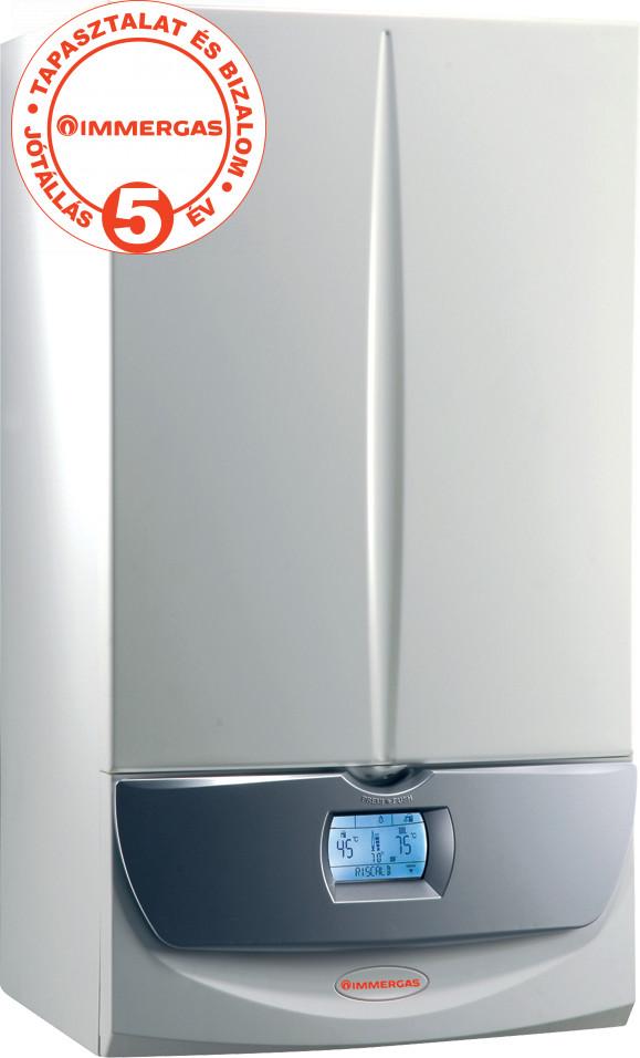 IMMERGAS VICTRIX TOP Superior 32 kW kondenzációs kombi fali gázkazán ErP +Ajándék termosztát