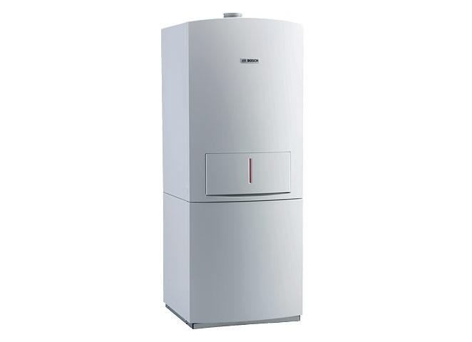 Bosch Condens 5000 ZBS 14/100-3 SE 23 kondenzációs állókazán, beépített melegvíztárolóval 14kW FM ERP kész