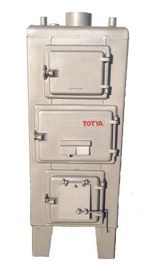 Totya  S- 28 Szigetelés nélkül és  huzatszabályozó nélkül