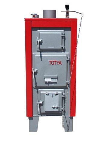 Totya  S-33 kW + szigetelés + automata huzatszabályó