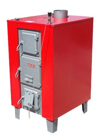Totya S -43 kW + szigetelés + automata huzatszabályozó