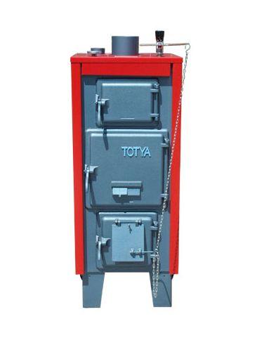 Totya  VR -28 kW + szigetelés + automata huzatszabályozó (vízrostélyos)