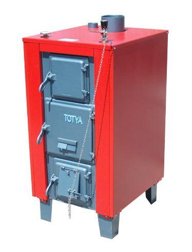 Totya  VR -38 kW + szigetelés + automata huzatszabályozó (vízrostélyos)