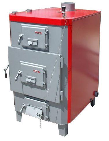 Totya  Titan -3 80-95 kW zárt fűtéskör (szalmabálás)
