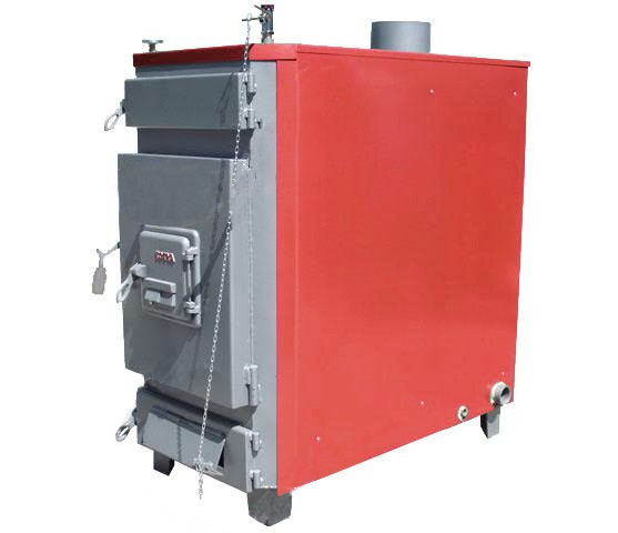 Totya  Titan -7 55 kW nyitott fűtéskör  (szalmabálás)