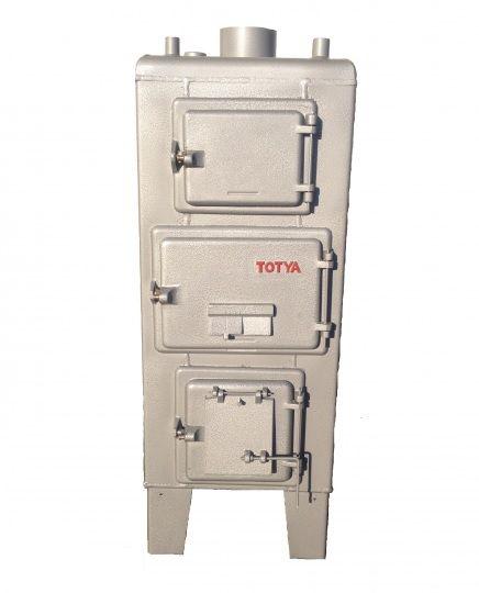Totya  VR -28 kW ( szigetelés és automata huzatszabályozó nélkül)  (vízrostélyos)